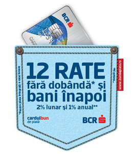 12 Rate BCR