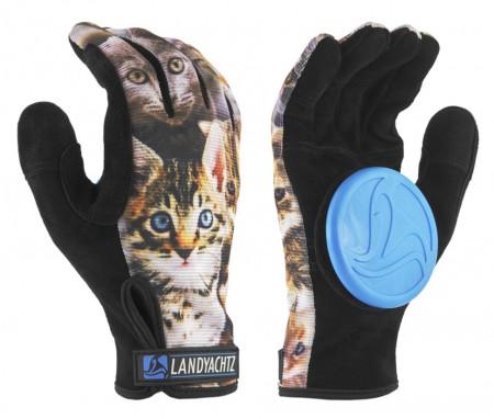 Landyachtz Cat Pattern Slide Gloves