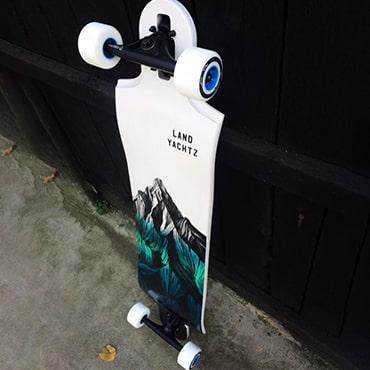 Landyachtz Longboard Switchblade 40 Mountain Blue Fade